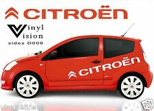 Citroen logo stickers graphics decals car C1 C2 C3 C4 Saxo DS3 Adhesive