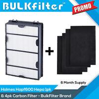 Hapf600 Replacement Hepa Filter B + 4pk Prefilter for Holmes & Bionaire HAPF600D
