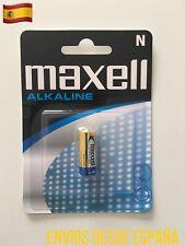 1 Pila Blister MAXELL N LR1 Alkaline Battery alcalina Original 100%  1.5V