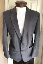 Silverado Dark Gray Western Jacket Blazer W/ Arrows Men's 40R Union USA Made