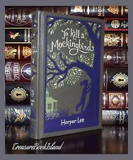 To Kill A Mockingbird by Harper Lee New Sealed Leather Bound Collectible Gift