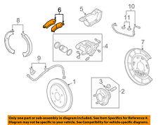 Chevrolet GM OEM 10-15 Camaro Brake-Rear Pads 92230273