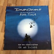 """PINK FLOYD DAVID GILMOUR-ON AN ISLAND poster promotional 2006-23x23"""""""