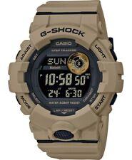 Men's Casio G-shock GBD800UC-5ER Coyote Marrón Militar Diver Reloj Bluetooth!