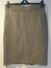 Droopy & Browns A.M.H Dogtooth Pencil Skirt Size 16