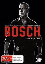 Bosch : Season 1 (DVD, 3-Disc Set) NEW