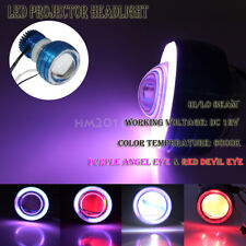 LED Projector Headlight Devil Angel Eye Fit Kawasaki Z750 Z1000 ZR1100 ZR1200