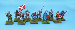 Painted Perry Miniatures 28mm Medieval Agincourt Foot Knights 1415-1429
