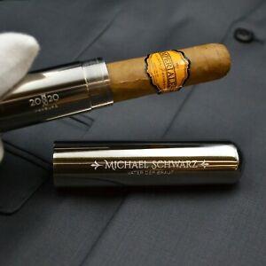 Cigarrenröhre mit Gravur | Vater der Braut | für den Trauzeuge