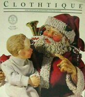 1990 CLOTHTIQUE POSSIBLE DREAMS SANTA CLAUS 1923 DEC POST COVER NIB SAVE BIG !!!
