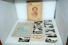 Vintage WWII Era Fiji Islands Map 11 Photos Photographs 1943 Handbook
