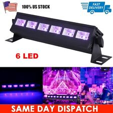 18W UV Stage Light 6 LED DJ Wall Wash Black Light Effect Bar Disco Party Light