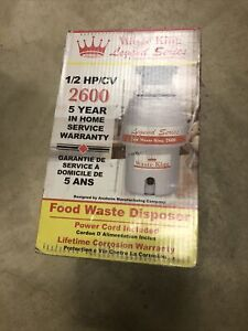Waste King Legend L2600 1/2HP Continuous Feed Disposer