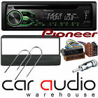 Ford Connect 2000-2006 Pioneer Car Stereo Radio CD MP3 USB Player GREEN Display