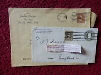 GARY COOPER - JACKIE COOPER - FREDDIE BARTHOLOMEW - BING CROSBY - ENVELOPES