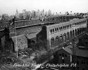 NCAA NFL WFL Franklin Field Philadelphia Pennsylvania Aerial View 8 X 10 Photo