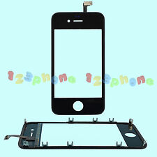 BRAND NEW TOUCH DIGITIZER & LCD HOLDER ASSEMBLY FOR IPHONE 4 #GS-302_BLACK