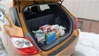 Envelope Style Trunk Cargo Net for Toyota Matrix 2009-2014 NEW