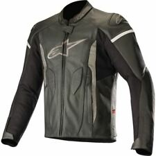 Alpinestars Faster Airflow Vented Leather Jacket - Black, All Sizes
