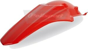 Polisport 8578700001 RED Rear Fender Honda CRF250R 2010-2013, CRF450R 2009-2012
