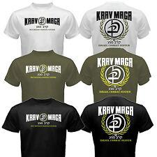 New Krav Maga Israel Combat System Self Defense IDF MMA Martial Arts T-shirt Tee