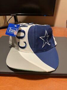 NFL Dallas Cowboys Embossed Eastport Team NFL White Snapback Headwear Cap