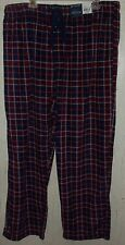 NWT MENS STAFFORD RED WHITE BLUE FLEECE PAJAMA BOTTOMS / LOUNGE  PANTS  SIZE XXL
