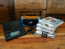 Black Nintendo DS / DSi Console Bundle with Charger Lead and Games