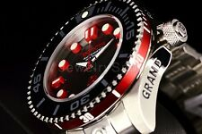 Invicta Grand ProDiver Gen II NH35A Automatic 3D Case Gray/Red Dial SS Watch NEW
