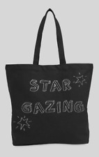 Whistles - Black - Star Gazing Tote - Logo Bag -- New With Tag - One Size
