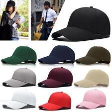 2017 Mode Casquette de baseball Blank Plain Snapback Hats Hip-Hop bboy Cap  EH