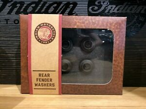 INDIAN BRONZE REAR FENDER WASHERS SCOUT 2881186-687