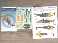 """CH-124 SEA KING """"RCN/50 YEARS SPECIAL"""" CANUCK MODEL DECALS 1/48"""