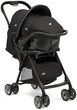JOIE Baby Travel System Set Pushchair Stroller Buggy 0 Car Seat Infant Carrier