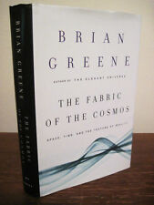 1st Edition THE FABRIC OF THE COSMOS Brian Greene SPACE TIME Science 8th Print