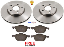 Ford Focus I 1.6 99bhp Front Brake Pads /& Discs 258mm Vented