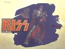 vTg AUCOIN Orig KISS 1979 GENE SIMMONS LOVE GUN ROCK CONCERT t-shirt iron-on NOS