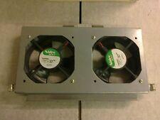 DUAL MOUNTED NIDEC BETAV TA450DC 120MMx120MMx38MM Cooling Fan 12V 80A 930462