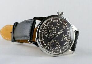 Mariage 43 mm Regulateur Armbanduhr mit Taschenuhrwerk  Molnija