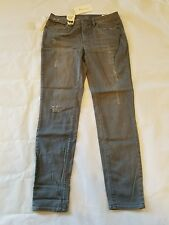 New Two by Vince Camuto grey jeans distressed skinny size 29/8