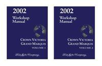 2002 Ford Crown Victoria Mercury Grand Marquis Shop Service Repair Manual OEM