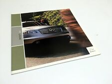 2003 Infiniti FX45 Q45 M45 I35 G35 Sedan Coupe QX4 Preview Brochure USA