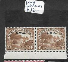 SOUTH WEST AFRICA (P1701B) 4D BEEHIVE ON SA SG 62  MOG