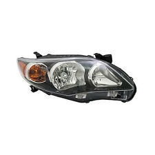2011 2012 2013 TOYOTA COROLLA HEADLIGHT LAMP S/XRS USA BLACK NSF RIGHT PASSENGER