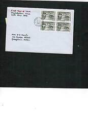 CANADA 1964 CHARLOTTETOWN CONF.  FDC # 431 BL/4  cat $6.00 Used  BOX 514