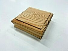 Pine  Pyramid Newel Cap For Staircase  91mm x 91mm