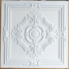 Ceiling tile Faux tin white color decor restaurant wall panel PL38 10pcs/lot