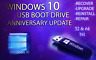 WINDOWS 10 ANNIVERSARY UPDATE✅64GB USB 32/64bit✅Install Repair Recover PC Fix