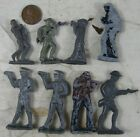 Lot of Antique Miniature Cast Lead Soldiers Officers