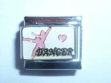 PINK DANCER ITALIAN CHARM fits all 9mm Italian bracelet  AF8